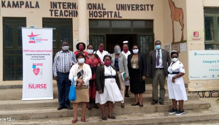 BTVET Officials Inspect KIU School of Nursing Sciences on Readiness for Reopening