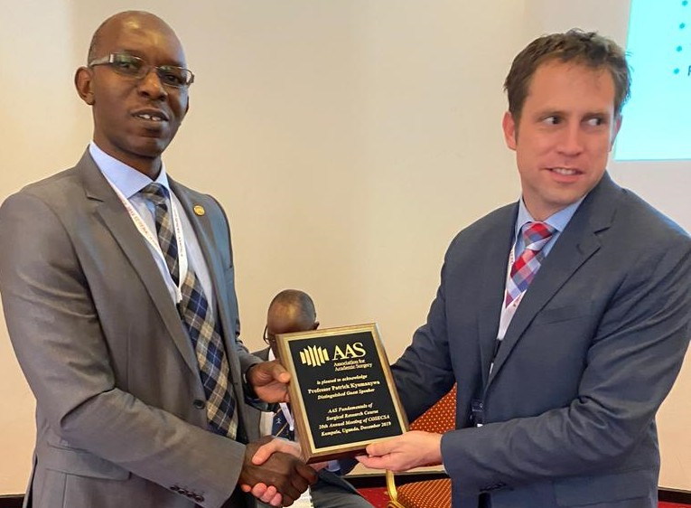 COSECSA 2019-AAS Honours Prof. Kyamanywa