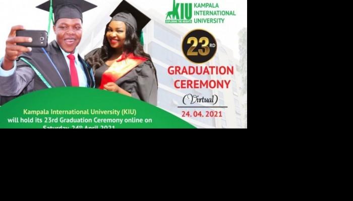 KIU's 23rd Graduation Ceremony Slated for Tomorrow