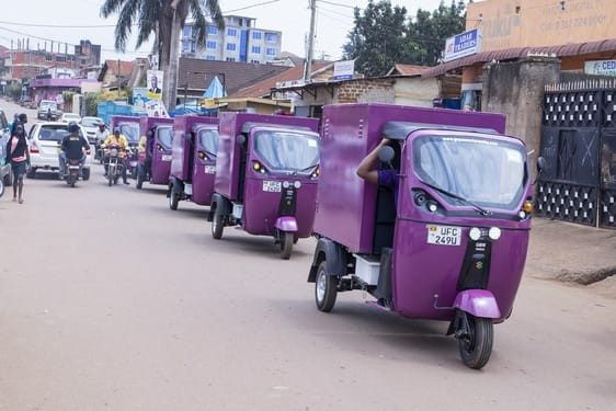 KIU General News: Uganda Gets First Electric Tuks Tuks in East Africa
