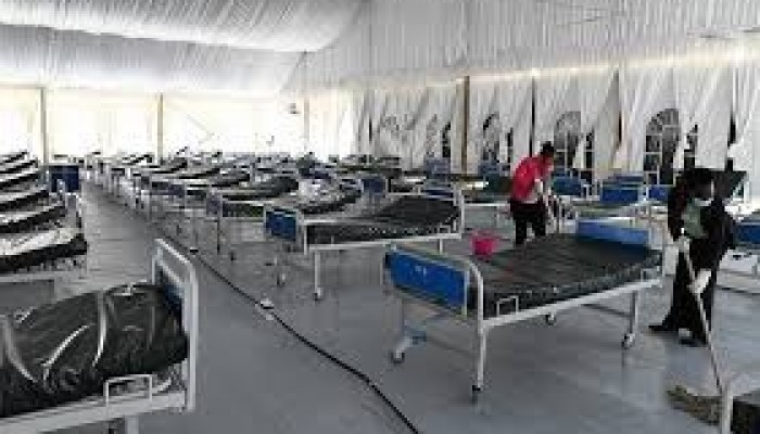 KIU International Desk: Kenya Turns Kenyatta Stadium Into Makeshift Hospital