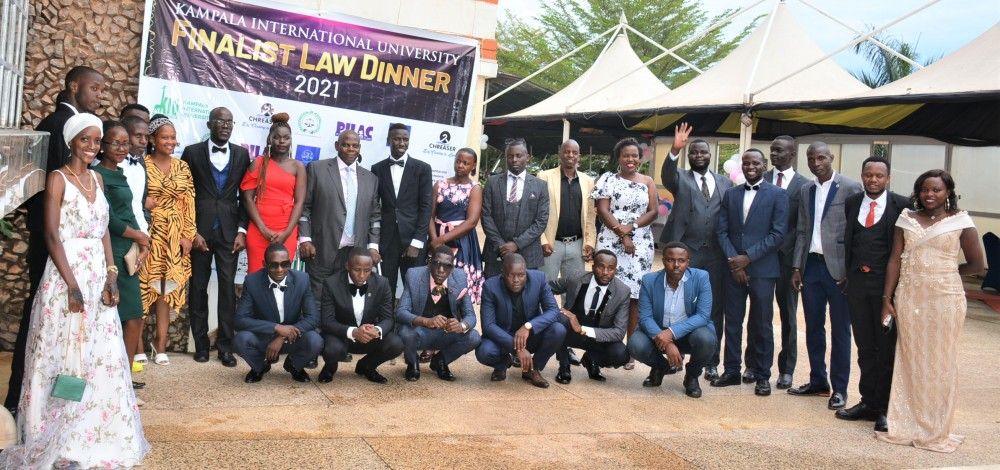 KIU Law Students Dine and Learn at 2021 Law Dinner
