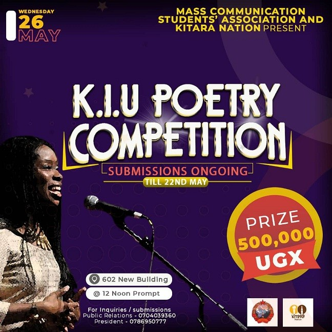 KIU Mass Com Students Association Organizes Poetry Competition