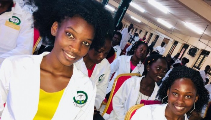 Kiu Medical Students Celebrate Their First Ever White Coat Ceremony
