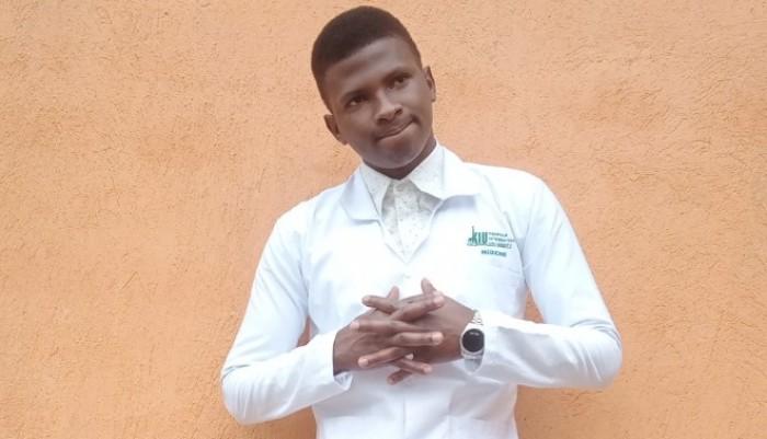 Shamusi Kyeyune Advises Fellow Students to Always Have Plan B