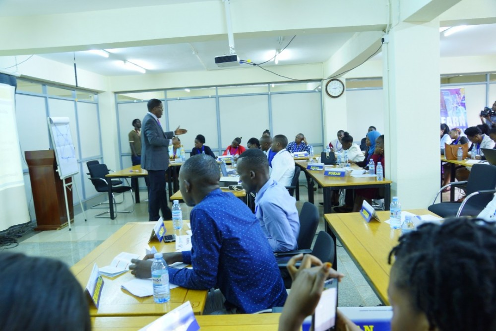 SLINT Conducts Leadership and Entrepreneurship Summit for University Students' Leaders at KIU