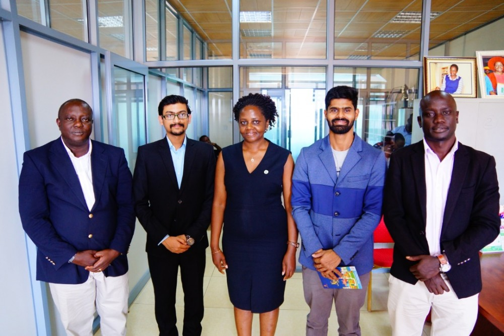 Study in India (SII) Team Visits KIU