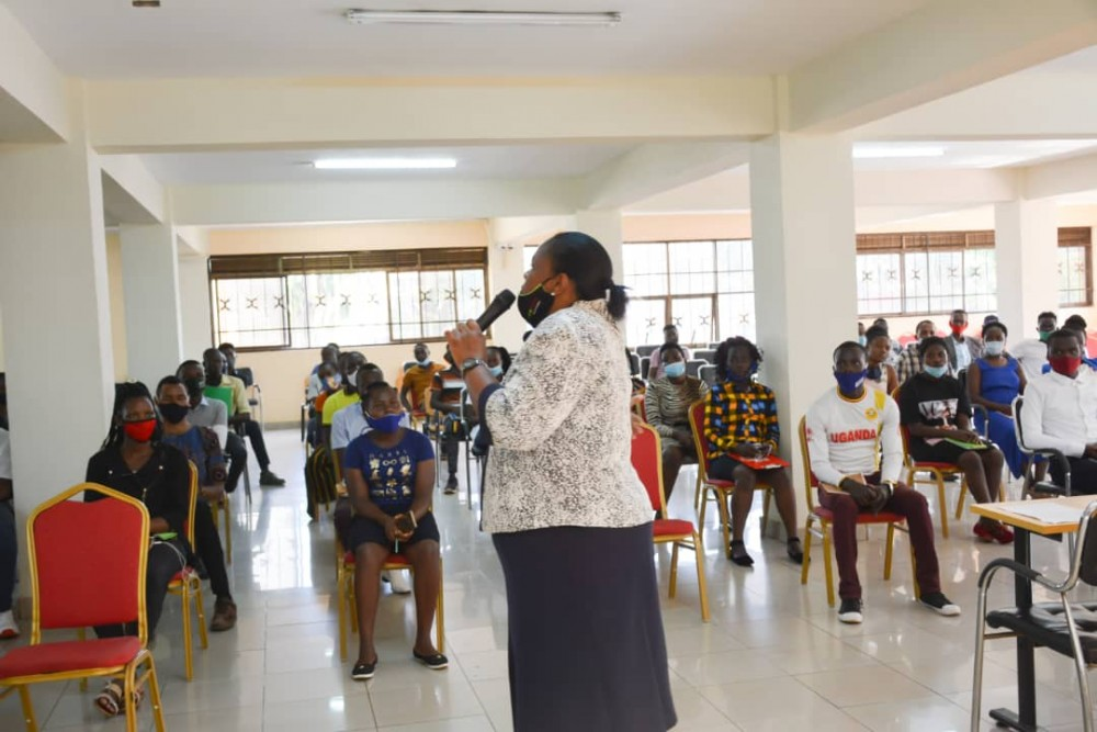 KIU Deputy Chief Librarian Tells New students to Fully Utilize University Library