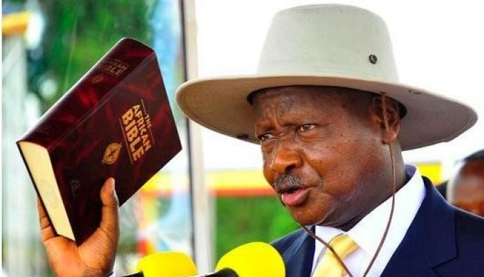Yoweri Museveni Swears in as President of Uganda for Sixth Term